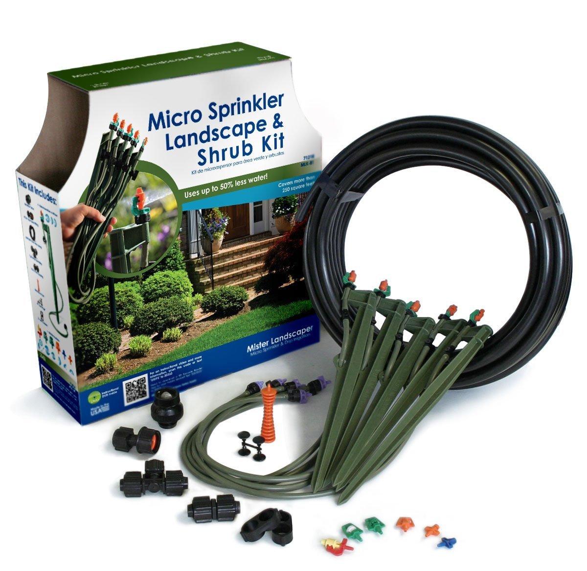 Mister Landscaper MLK-81 Micro Sprinkler Landscape & Shrub Drip Kit