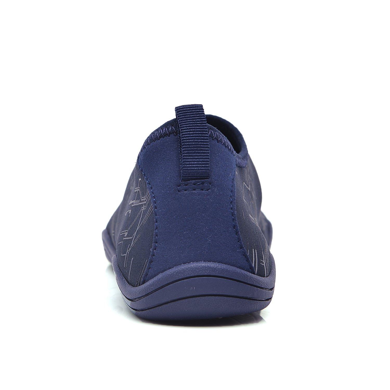 LeKuni Women's Mesh Slip on Water Shoes (15 Women/12 MenC45_N71Blue) by LeKuni (Image #3)
