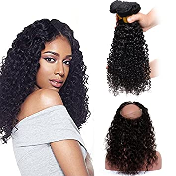 Amazon.com : 360 Full Lace Frontal Closure