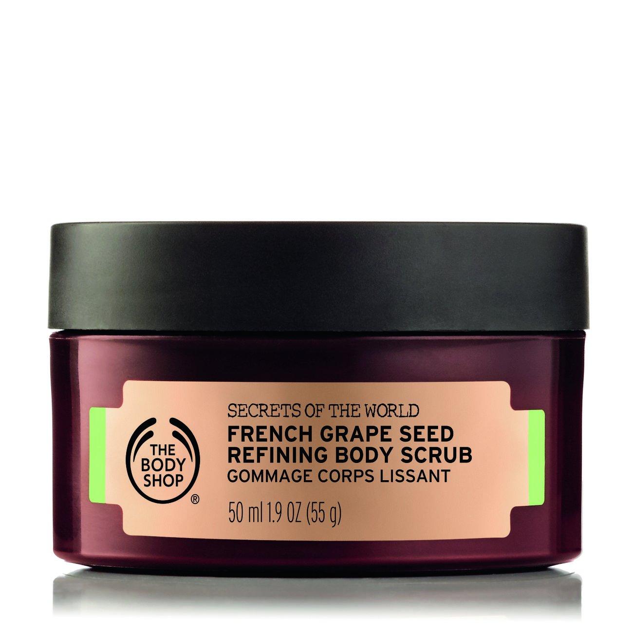The Body Shop - French Grape Seed Refining Body Scrub (50ml)