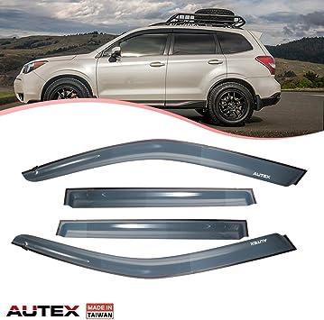 OE JDM Style Fit Subaru Forester 2014-2018 Window Visors Vent Sun Rain Wind**