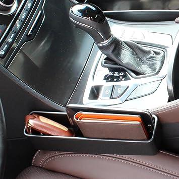 Amazon.com: inpoc Console Side Pocket (2 PCS), Car Organizer, Car ...