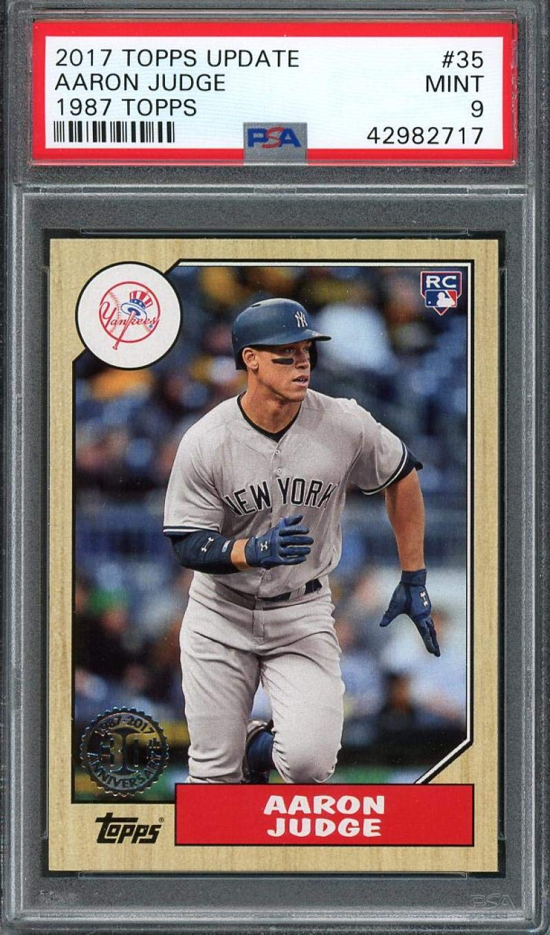 Wins AL Rookie of the Year Award Only 5,909 made! 2017 Topps Now Baseball #OS-64 Aaron Judge Rookie Card