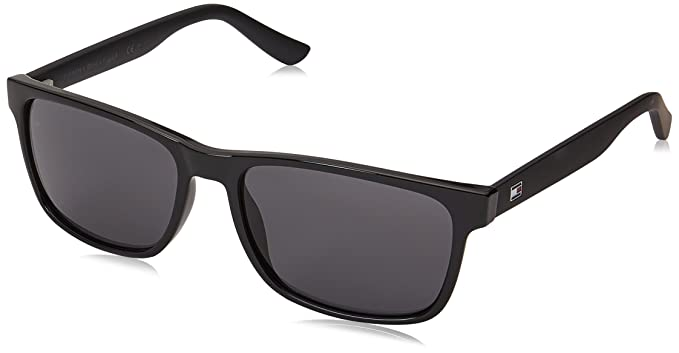 Unisex-Adults TH 1985 9O Sunglasses, Hvnglttrgrey, 56 Tommy Hilfiger