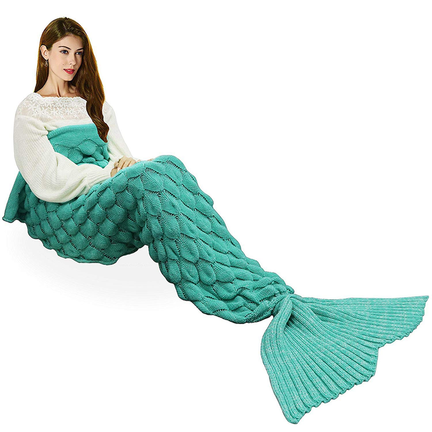 Top 10 Best Mermaid Tail Blankets (2020 Reviews & Buying Guide) 10