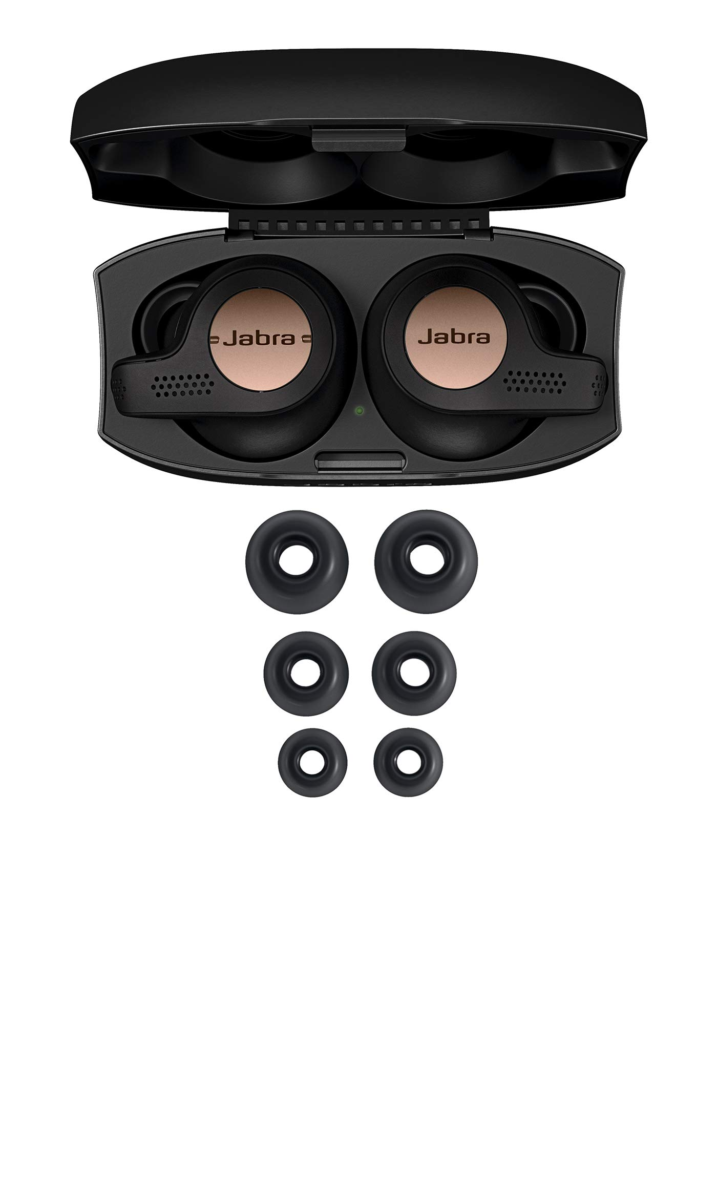 Jabra Elite Active 65t True Wireless Sports Earbuds with Charging Case - Copper Black by Jabra (Image #3)