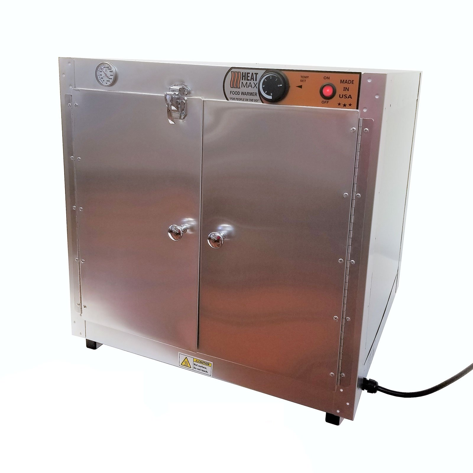 Commercial 110V Catering Hot Box Food Warmer w/ Water Tray 24''x24''x24''