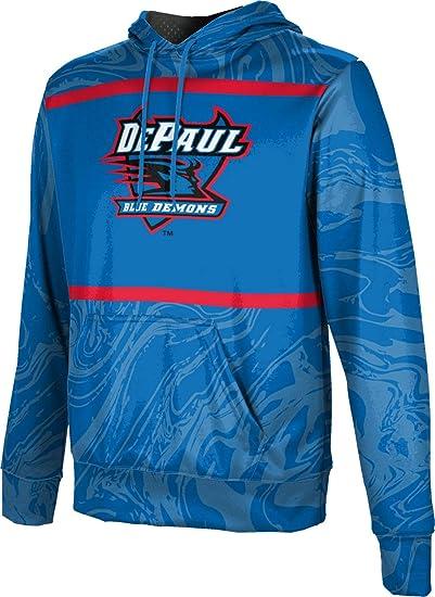 ProSphere DePaul University Girls Pullover Hoodie School Spirit Sweatshirt Ripple