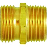 Cored Plug 1-1//4 Male Pipe 1-1//4 Male Pipe 38109-20 Anderson Metals 38109 Red Brass Pipe Fitting