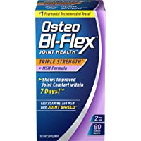 Osteo Bi-Flex® Triple Strength w/ MSM, 80 Coated Tablets