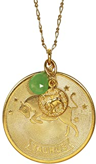 product image for a. v. max Taurus Zodiac Pendant Necklace