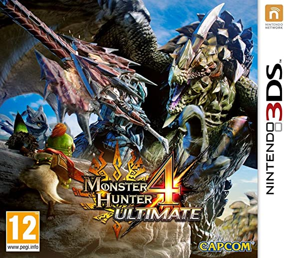 Monster Hunter 4 - Ultimate [Importación Francesa]: Amazon.es: Videojuegos