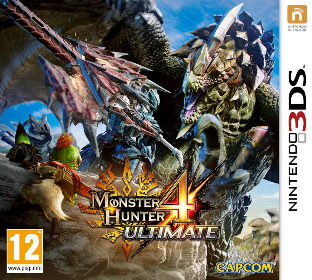 Third Party - Monster Hunter 4 Ultimate Occasion [ Nintendo 3DS ] - 0045496527020