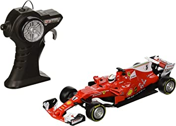 81204 Maisto 1:24 RC Ferrari 2017 Season Vettel Radio Control F1 Car