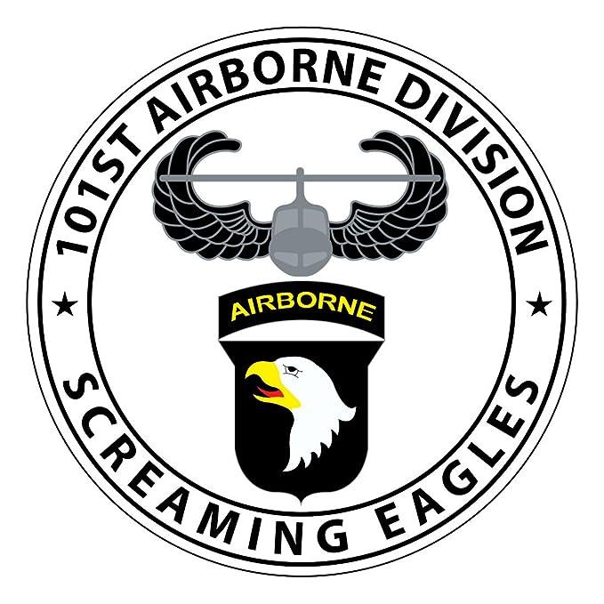 amazon sticker pup 101st 6 inch airborne 101st Airborne Veteran