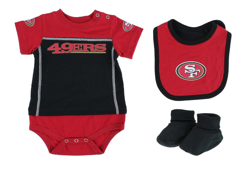 quality design af472 fa0bb San Francisco 49ers NFL Baby Boys Newborn Infant