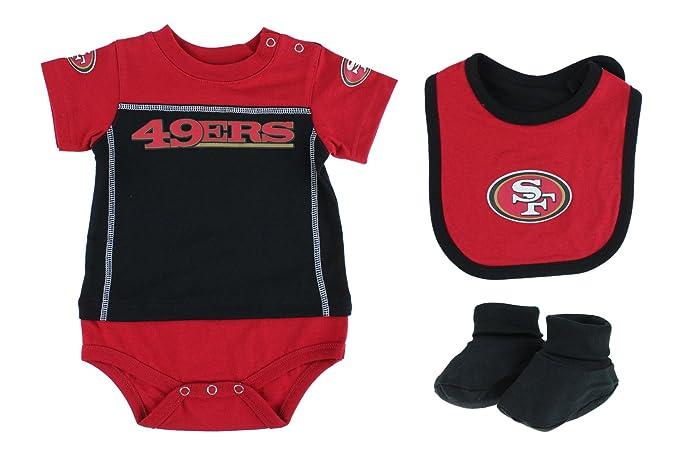 quality design 9615a 04199 San Francisco 49ers NFL Baby Boys Newborn Infant