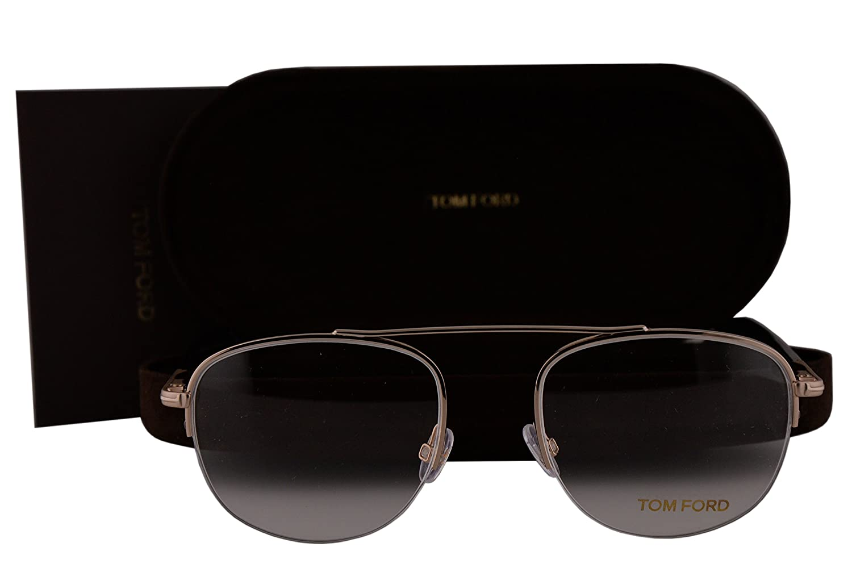 4563f8d763 Amazon.com  Tom Ford FT5450 Eyeglasses 51-19-140 Shiny Rose Gold Black  w Demo Clear Lens 028 TF5450 FT5450 V TF5450 V TF5450V  Home   Kitchen
