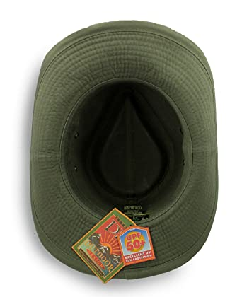Dorfman Pacific Men s Twill Outback Hat at Amazon Men s Clothing store  596669e51a3