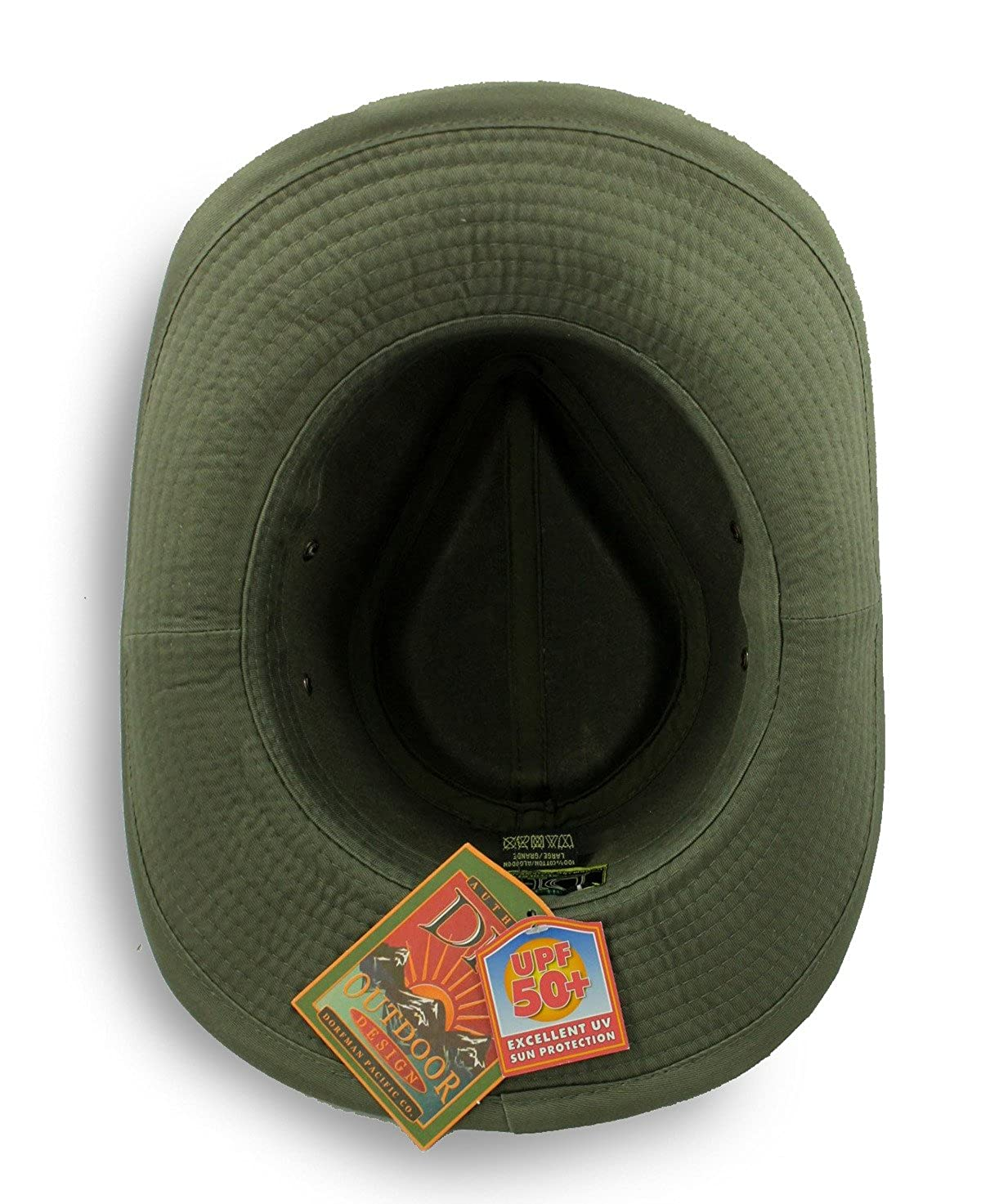 Dorfman Pacific Men s Twill Outback Hat at Amazon Men s Clothing store  b6b0552e8cb