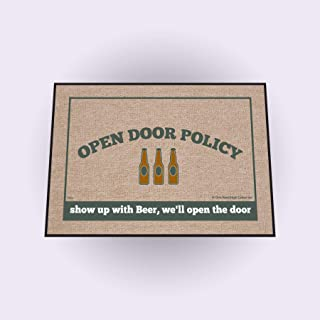 product image for High Cotton Open Door Policy Beer Doormat
