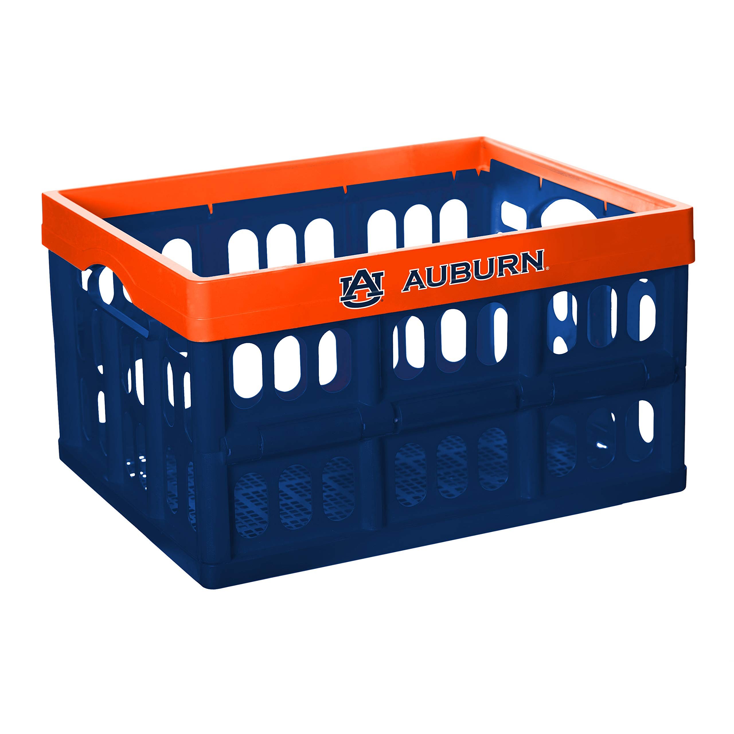 NCAA Fabrique Innovations Collapsible Crate, Auburn Tigers