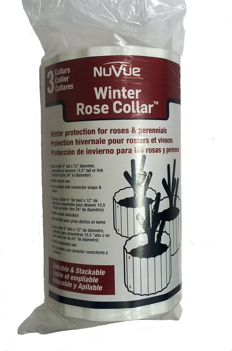 Nuvue Products 20243 3-Piece Winter Rose Collar