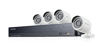Samsung - SDH-B73043BFP - Kit de Video vigilancia con Grabador 4 Canales y 4