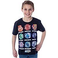 Beyblade Burst Boys' Spinner Tops T-Shirt
