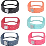 Set 1 Black 1 Teal 1 Orange 1 Red 1 Slate 1 Pink Replacement Bands & Metal Clasps For Samsung Galaxy Gear Fit Bracelet Smart Wristband Wireless Activity Bracelet Sport Bracelet Sport Arm Band Armband