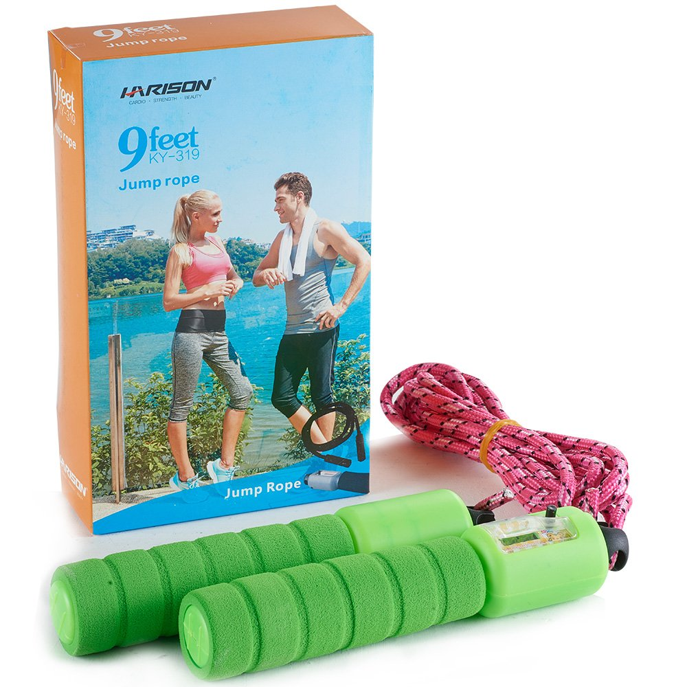 HARISON Jump Rope Adjustable Speed Rope for Cardio Workout