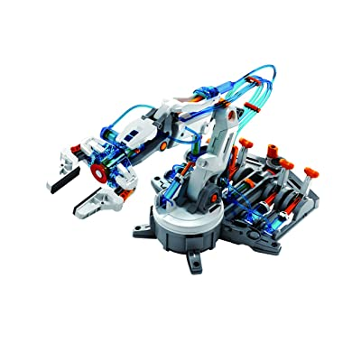 Circuit-Test Hydraulic Robotic Arm Kit - Learn Hydro Mechanics and Robotics: Toys & Games