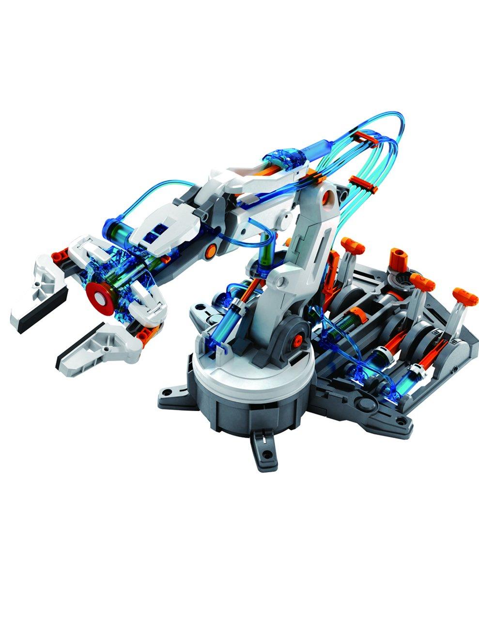 Amazon.com: CIRCUIT-TEST Hydraulic Robotic Arm Kit - Learn Hydro ...