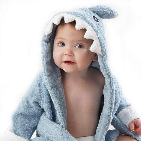 Bata de bebé con capucha Animal bata de baño Batas de baño ropa de dormir para