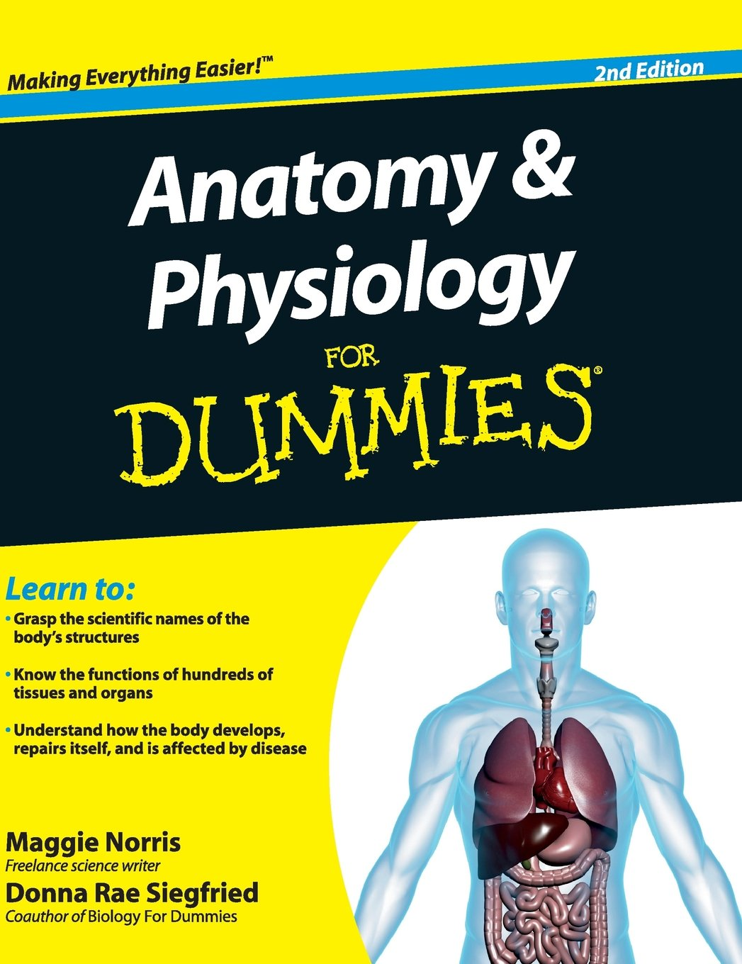 Anatomy and Physiology for Dummies: Amazon.co.uk: Maggie A Norris ...