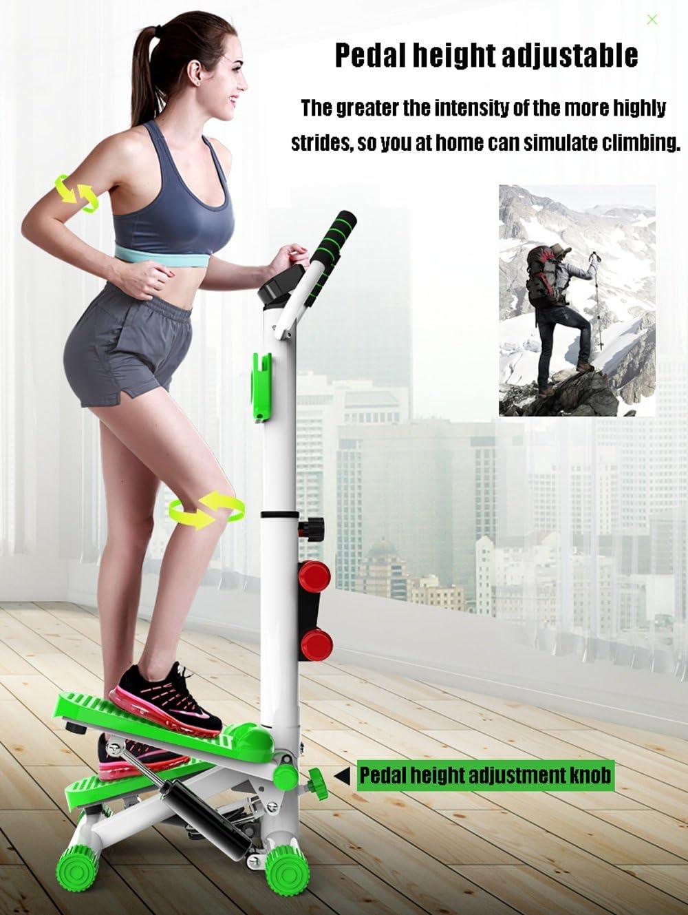 Verde//Negro Equipo Multifuncional de Ejercicios for el Gimnasio con pie TSDS Equipo Deportivo m/áquina for Hacer Ejercicio en Interiores con apoyabrazos P/érdida de Peso