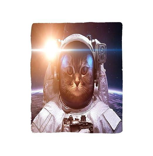 VROSELV Custom Manta Espacio Gato Valiente Astronauta Kitty ...