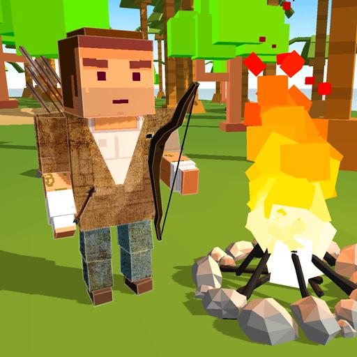 (Cube Island Survival Simulator 3D)