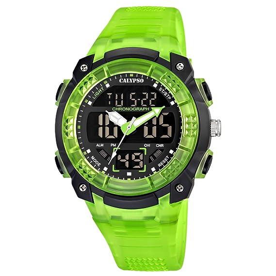 Calypso watches K5601/3 - Reloj Digital de Cuarzo para niño, Correa de plástico