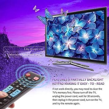fghdfdhfdgjhh Control Remoto Universal para Samsung Smart TV AA59-00638A Reemplazo de Accesorios de televisión con Botones de retroiluminación 3D: Amazon.es: Electrónica