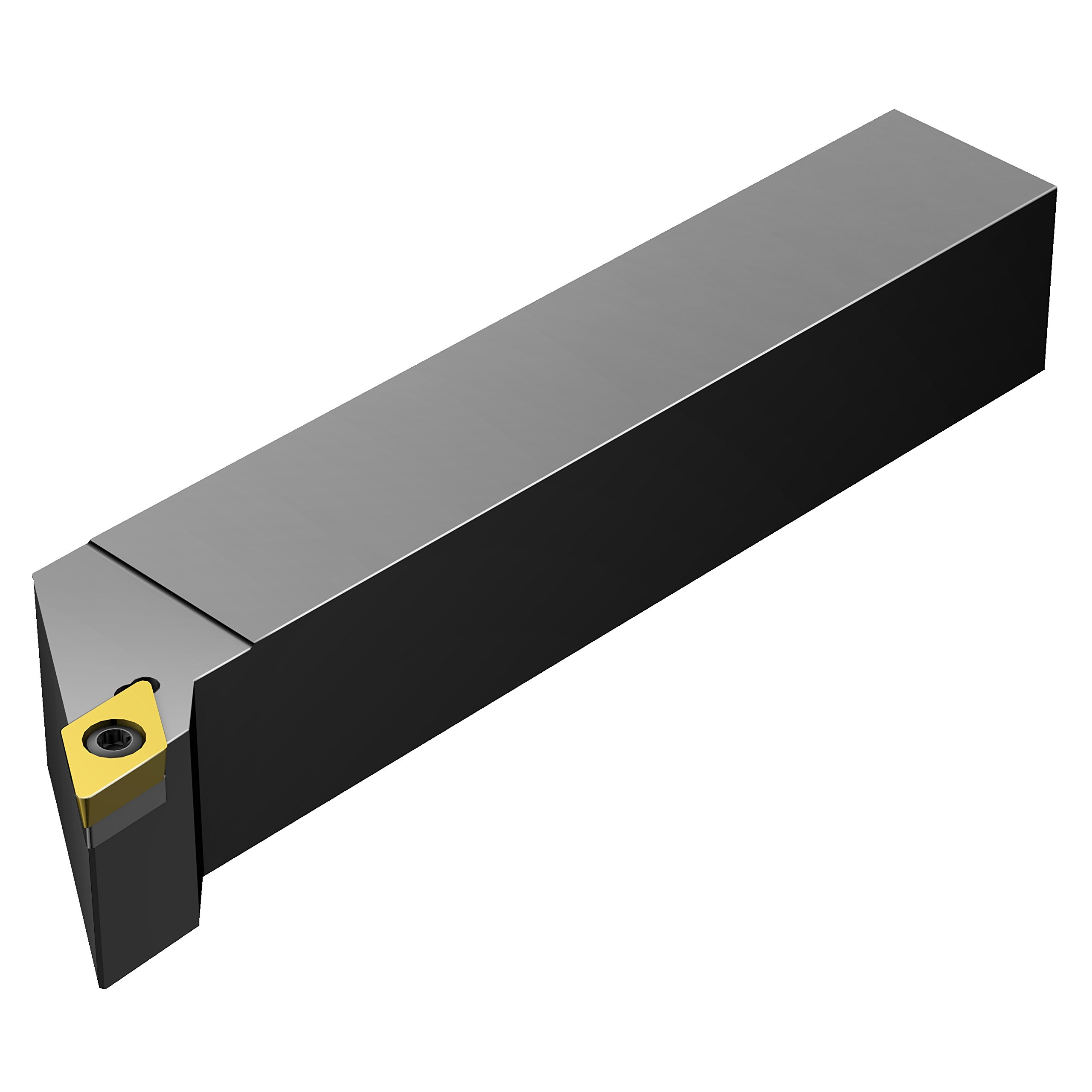 Sandvik Coromant SDJCL 16 3C Turning Insert Holder, Square Shank, Steel, External, Screw Clamp, Left Hand, 1'' Width x 1'' Height Shank, 5'' Length x 1.25'' Width, DCMT 3(2.5)2 Insert Size