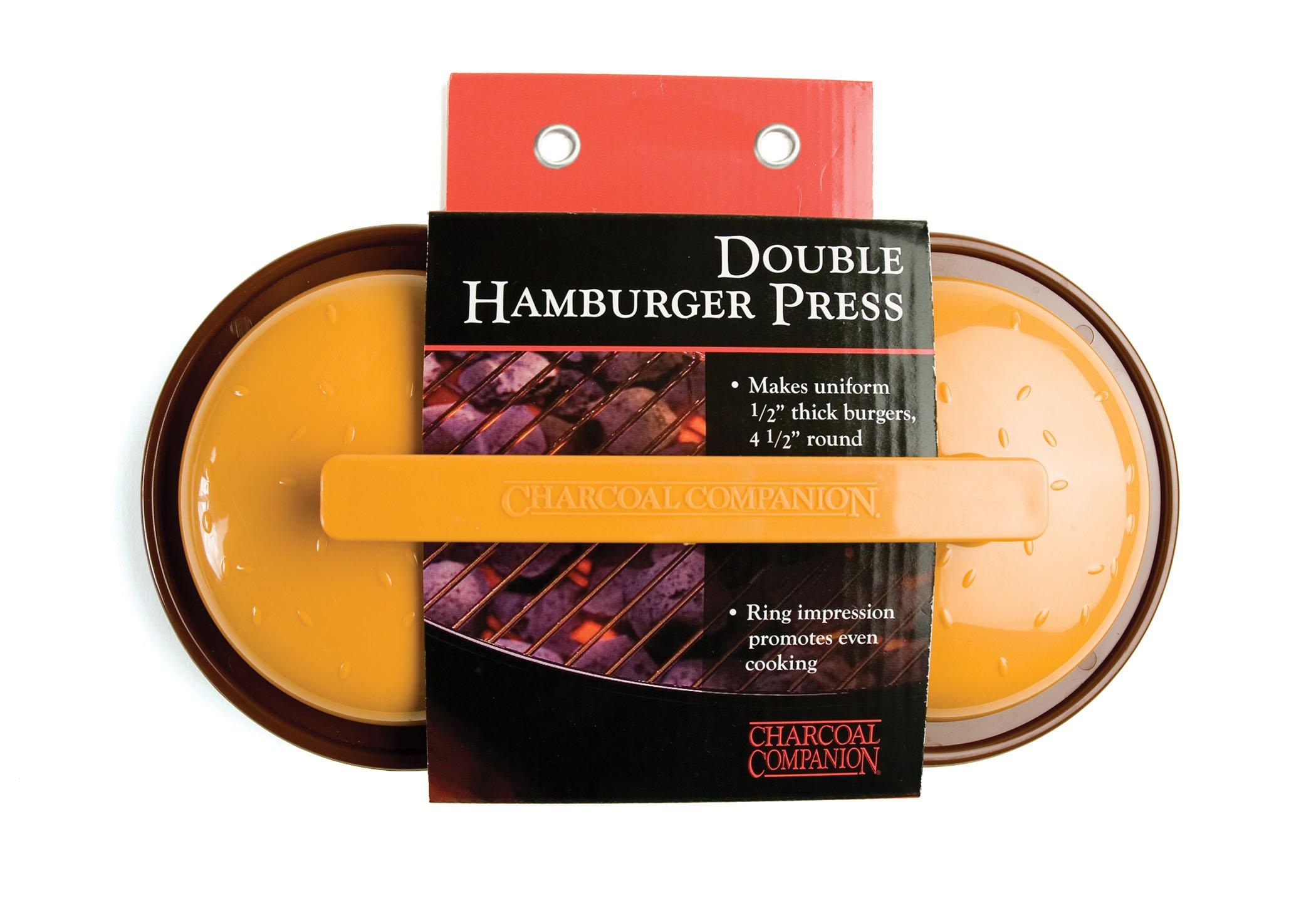 Charcoal Companion Plastic Double Hamburger Grilling Press by Charcoal Companion (Image #3)