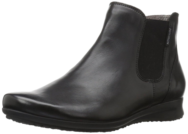Mephisto Women's Floreta Ankle Bootie B06XCDDFY6 9.5 B(M) US|Black Silk