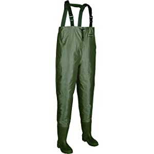 Allen Brule River Bootfoot Chest Waders with Cleated Soles