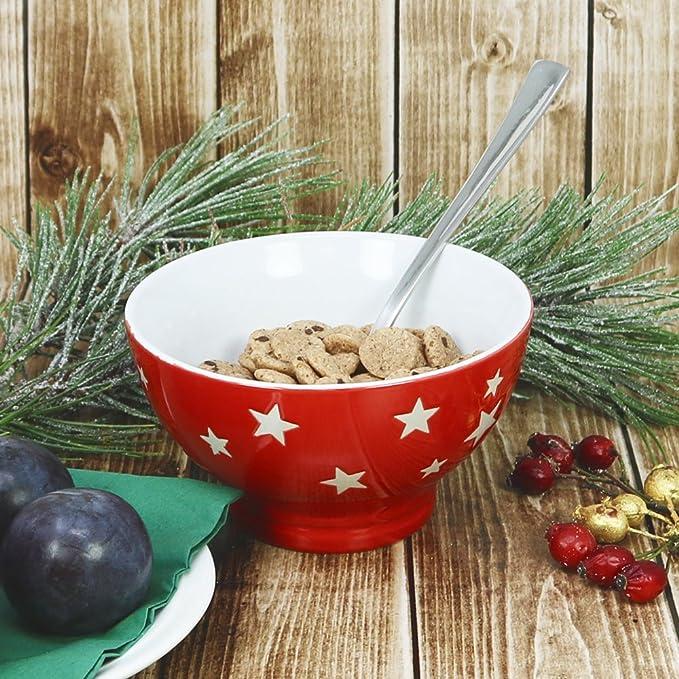 COM-FOUR® 4x tazones de cereales XL