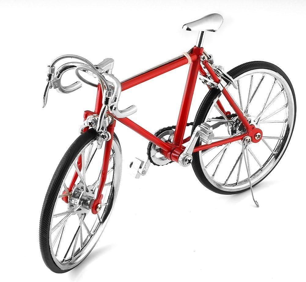 Modelo de Bicicleta en Miniatura de Metal Racing Bike.: Amazon ...