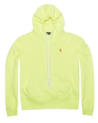 f675b3723b55 RALPH LAUREN Polo Womens Fleece Pullover Hoodie Sweatshirt at Amazon  Women s Clothing store