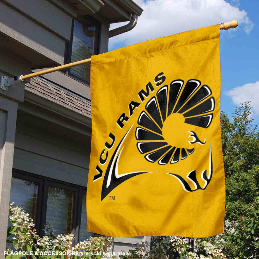 College Flags and Banners Co Virginia Commonwealth University Banner House Flag