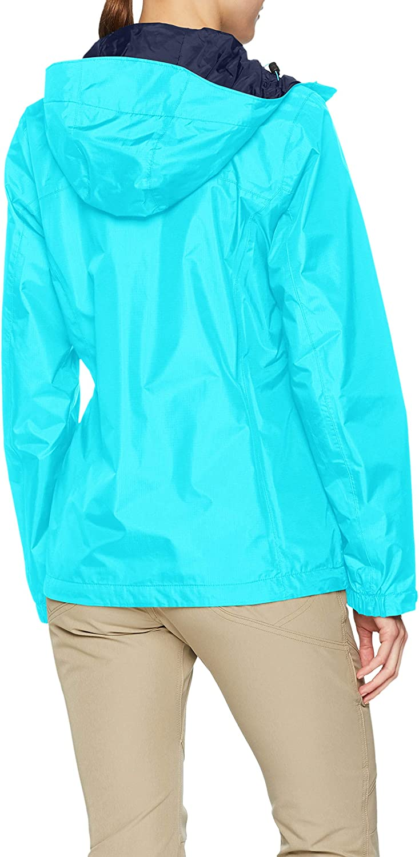 Atoll Talla: S Pouring Adventure II Jacket 1760071 Nailon Azul Columbia Mujer Chaqueta impermeable