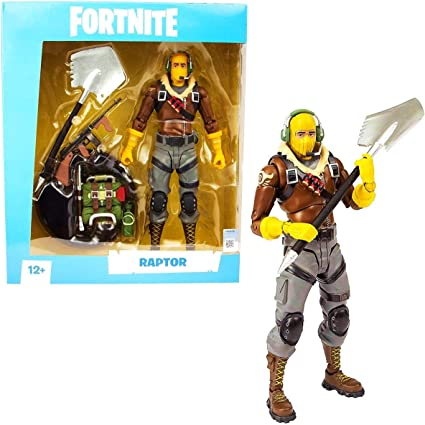 Fortnite Raptor Action Figure 7 Inch Collectable From McFarlane Toys